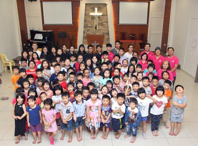 苏雅喜乐堂 主日学儿童生活营 Gereja Joy Soga Sunday School Camp A01