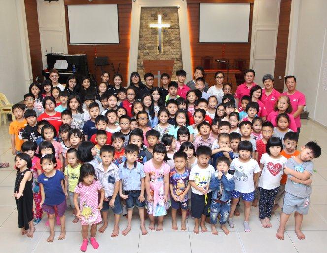 苏雅喜乐堂 主日学儿童生活营 Gereja Joy Soga Sunday School Camp A02