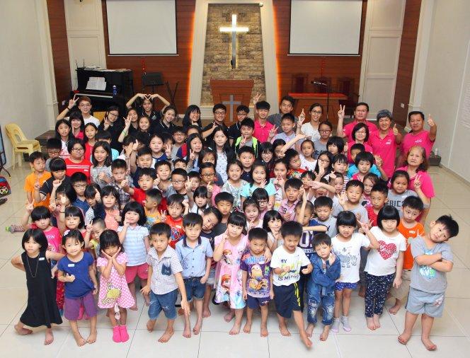 苏雅喜乐堂 主日学儿童生活营 Gereja Joy Soga Sunday School Camp A04