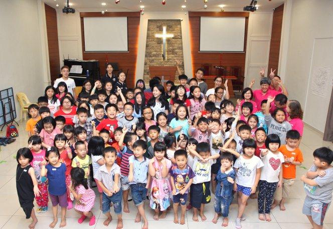 苏雅喜乐堂 主日学儿童生活营 Gereja Joy Soga Sunday School Camp A07