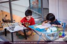 马来西亚 哥打白沙罗 八打灵再也 吉隆坡 雪兰莪 金犬报喜迎旺年 创意填色比赛 World Art House 世界艺术画室 及 1 Utama Shopping 金爺爺 JinYeYe Effye Media A033