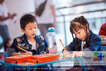 马来西亚 哥打白沙罗 八打灵再也 吉隆坡 雪兰莪 金犬报喜迎旺年 创意填色比赛 World Art House 世界艺术画室 及 1 Utama Shopping 金爺爺 JinYeYe Effye Media A038
