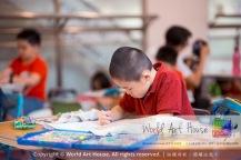 马来西亚 哥打白沙罗 八打灵再也 吉隆坡 雪兰莪 金犬报喜迎旺年 创意填色比赛 World Art House 世界艺术画室 及 1 Utama Shopping 金爺爺 JinYeYe Effye Media A039