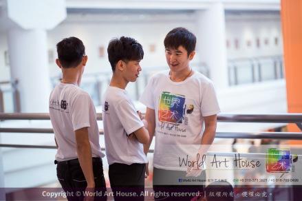 马来西亚 哥打白沙罗 八打灵再也 吉隆坡 雪兰莪 金犬报喜迎旺年 创意填色比赛 World Art House 世界艺术画室 及 1 Utama Shopping 金爺爺 JinYeYe Effye Media A048