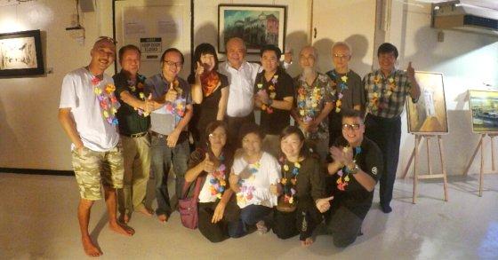 马来西亚 星新艺术接力巡展 维也纳艺术学院 Malaysia Singapore and Johor Bahru Art Exhibition Viana Academy Of Art A00