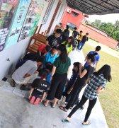 马来西亚 柔佛 峇株巴辖 苏雅喜乐马来西亚 柔佛 峇株巴辖 苏雅喜乐堂 和平团契 少年 一日营会 3月 23日 2018年 门训生 Malaysia Johor Batu Pahat Gereja Joy Soga Peace Fellowship Youth One Day Camp 23 Mar 2018 A34