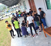 马来西亚 柔佛 峇株巴辖 苏雅喜乐马来西亚 柔佛 峇株巴辖 苏雅喜乐堂 和平团契 少年 一日营会 3月 23日 2018年 门训生 Malaysia Johor Batu Pahat Gereja Joy Soga Peace Fellowship Youth One Day Camp 23 Mar 2018 A39