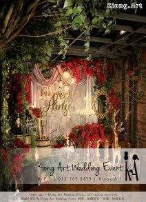 艺术之家马来西亚一站式婚礼策划 Kiong Art 活动布置 和 一站式婚礼策划布置公司 婚礼主题 婚礼现场 Live Band 婚礼司仪 婚礼摄影 婚礼录影 策划 自助餐 开张庆典场地布置 生日宴会布置 A01-01