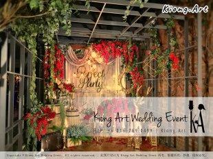 艺术之家马来西亚一站式婚礼策划 Kiong Art 活动布置 和 一站式婚礼策划布置公司 婚礼主题 婚礼现场 Live Band 婚礼司仪 婚礼摄影 婚礼录影 策划 自助餐 开张庆典场地布置 生日宴会布置 A01-18