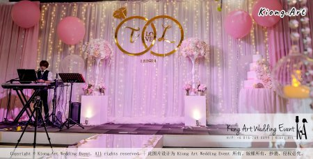 Kiong Art Wedding Event Kuala Lumpur Malaysia Event and Wedding Decoration Company One-stop Wedding Planning Services Wedding Theme Fantasy Secret Garden Restoran SY Muar A03-03