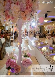 Kiong Art Wedding Event Kuala Lumpur Malaysia Event and Wedding Decoration Company One-stop Wedding Planning Services Wedding Theme Fantasy Secret Garden Restoran SY Muar A03-04