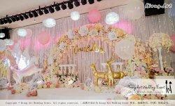 Kiong Art Wedding Event Kuala Lumpur Malaysia Event and Wedding Decoration Company One-stop Wedding Planning Services Wedding Theme Fantasy Secret Garden Restoran SY Muar A03-07