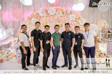 Kiong Art Wedding Event Kuala Lumpur Malaysia Event and Wedding Decoration Company One-stop Wedding Planning Services Wedding Theme Fantasy Secret Garden Restoran SY Muar A03-09