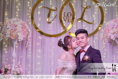 Kiong Art Wedding Event Kuala Lumpur Malaysia Event and Wedding Decoration Company One-stop Wedding Planning Services Wedding Theme Fantasy Secret Garden Restoran SY Muar A03-22