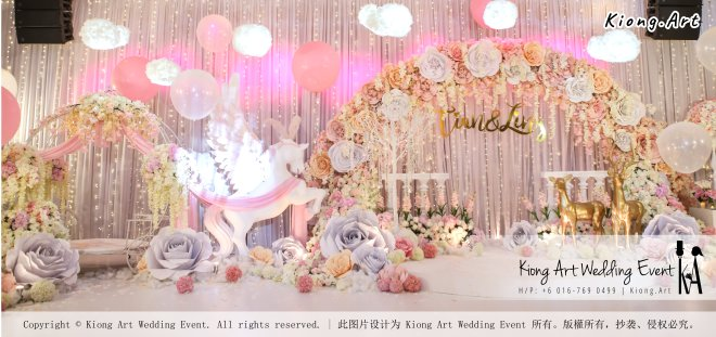Kiong Art Wedding Event Kuala Lumpur Malaysia Event and Wedding Decoration Company One-stop Wedding Planning Services Wedding Theme Fantasy Secret Garden Restoran SY Muar A03-35