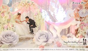 Kiong Art Wedding Event Kuala Lumpur Malaysia Event and Wedding Decoration Company One-stop Wedding Planning Services Wedding Theme Fantasy Secret Garden Restoran SY Muar A03-36