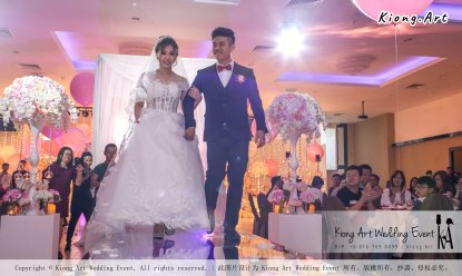Kiong Art Wedding Event Kuala Lumpur Malaysia Event and Wedding Decoration Company One-stop Wedding Planning Services Wedding Theme Fantasy Secret Garden Restoran SY Muar A03-42