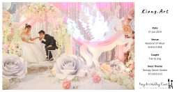 Kiong Art Wedding Event Kuala Lumpur Malaysia Event and Wedding Decoration Company One-stop Wedding Planning Services Wedding Theme Fantasy Secret Garden Restoran SY Muar A03-50