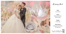 Kiong Art Wedding Event Kuala Lumpur Malaysia Event and Wedding Decoration Company One-stop Wedding Planning Services Wedding Theme Fantasy Secret Garden Restoran SY Muar A03-54