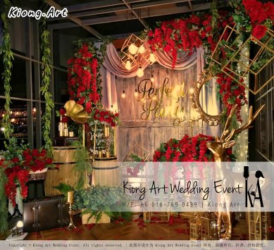 Kiong Art Wedding Event Kuala Lumpur Malaysia Event and Wedding Decoration Company One-stop Wedding Planning Services Wedding Theme Live Band Wedding Photography Videography A01-22
