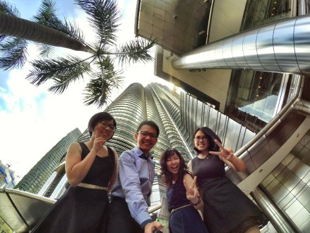 KLCC Kuala Lumpur Malaysia Kuala Lumpur City Centre Selangor Travel Raymond Ong Effye Ang Pinky Ning Estella Oon PETRONAS Twin Towers 马来西亚 吉隆坡 双峰塔 旅游 雪兰莪 A01