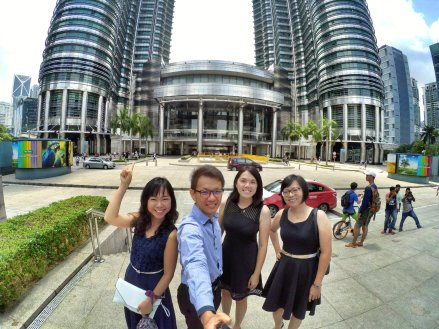 KLCC Kuala Lumpur Malaysia Kuala Lumpur City Centre Selangor Travel Raymond Ong Effye Ang Pinky Ning Estella Oon PETRONAS Twin Towers 马来西亚 吉隆坡 双峰塔 旅游 雪兰莪 A11
