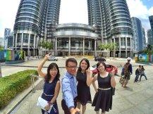 KLCC Kuala Lumpur Malaysia Kuala Lumpur City Centre Selangor Travel Raymond Ong Effye Ang Pinky Ning Estella Oon PETRONAS Twin Towers 马来西亚 吉隆坡 双峰塔 旅游 雪兰莪 A12