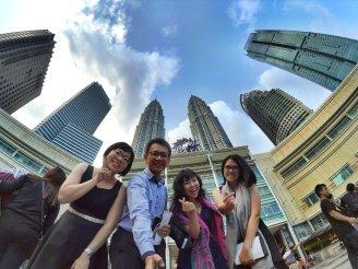 KLCC Kuala Lumpur Malaysia Kuala Lumpur City Centre Selangor Travel Raymond Ong Effye Ang Pinky Ning Estella Oon PETRONAS Twin Towers 马来西亚 吉隆坡 双峰塔 旅游 雪兰莪 A20