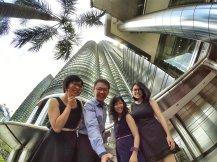 KLCC Kuala Lumpur Malaysia Kuala Lumpur City Centre Selangor Travel Raymond Ong Effye Ang Pinky Ning Estella Oon PETRONAS Twin Towers 马来西亚 吉隆坡 双峰塔 旅游 雪兰莪 A03