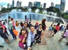 KLCC Kuala Lumpur Malaysia Kuala Lumpur City Centre Selangor Travel Raymond Ong Effye Ang Pinky Ning Estella Oon PETRONAS Twin Towers 马来西亚 吉隆坡 双峰塔 旅游雪兰莪A23