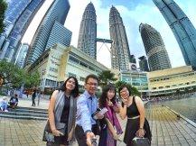 KLCC Kuala Lumpur Malaysia Kuala Lumpur City Centre Selangor Travel Raymond Ong Effye Ang Pinky Ning Estella Oon PETRONAS Twin Towers 马来西亚 吉隆坡 双峰塔 旅游雪兰莪A27