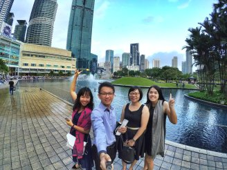 KLCC Kuala Lumpur Malaysia Kuala Lumpur City Centre Selangor Travel Raymond Ong Effye Ang Pinky Ning Estella Oon PETRONAS Twin Towers 马来西亚 吉隆坡 双峰塔 旅游雪兰莪A31