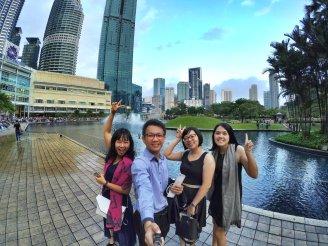 KLCC Kuala Lumpur Malaysia Kuala Lumpur City Centre Selangor Travel Raymond Ong Effye Ang Pinky Ning Estella Oon PETRONAS Twin Towers 马来西亚 吉隆坡 双峰塔 旅游雪兰莪A32