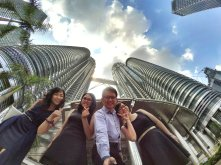 KLCC Kuala Lumpur Malaysia Kuala Lumpur City Centre Selangor Travel Raymond Ong Effye Ang Pinky Ning Estella Oon PETRONAS Twin Towers 马来西亚 吉隆坡 双峰塔 旅游 雪兰莪 A05