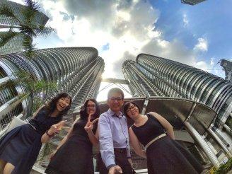 KLCC Kuala Lumpur Malaysia Kuala Lumpur City Centre Selangor Travel Raymond Ong Effye Ang Pinky Ning Estella Oon PETRONAS Twin Towers 马来西亚 吉隆坡 双峰塔 旅游 雪兰莪 A07