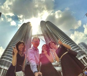 KLCC Kuala Lumpur Malaysia Kuala Lumpur City Centre Selangor Travel Raymond Ong Effye Ang Pinky Ning Estella Oon PETRONAS Twin Towers 马来西亚 吉隆坡 双峰塔 旅游 雪兰莪 A09