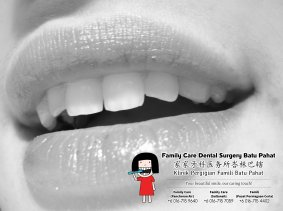 Klinik Pergigian Famili Batu Pahat Johor Malaysia Batu Pahat Doktor Pergigian Kanak-kanak Klinik Pergigian Rawatan Implan Tanam Gigi Tampalan Gigi Cabutan Gigi Pembedahan Gigi Geraham Bongsu A01-10