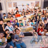 Golden Dog Annunciation Celebrate Chinese New Year – Creative Colouring Competition – World Art House 世界艺术画室 - Photo Album
