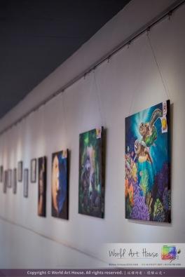 Malaysia Kota Damansara Petaling Jaya Kuala Lumpur Selangor Chinese New Year Charity Coloring Contest World Art House 世界艺术画室 and 1 Utama Shopping JinYeYe Effye Media A011