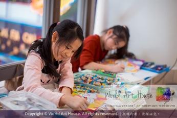 Malaysia Kota Damansara Petaling Jaya Kuala Lumpur Selangor Chinese New Year Charity Coloring Contest World Art House 世界艺术画室 and 1 Utama Shopping JinYeYe Effye Media B001