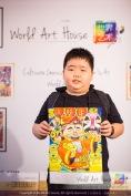 Malaysia Kota Damansara Petaling Jaya Kuala Lumpur Selangor Chinese New Year Charity Coloring Contest World Art House 世界艺术画室 and 1 Utama Shopping JinYeYe Effye Media B005