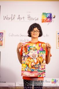 Malaysia Kota Damansara Petaling Jaya Kuala Lumpur Selangor Chinese New Year Charity Coloring Contest World Art House 世界艺术画室 and 1 Utama Shopping JinYeYe Effye Media B007