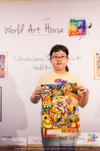 Malaysia Kota Damansara Petaling Jaya Kuala Lumpur Selangor Chinese New Year Charity Coloring Contest World Art House 世界艺术画室 and 1 Utama Shopping JinYeYe Effye Media B010