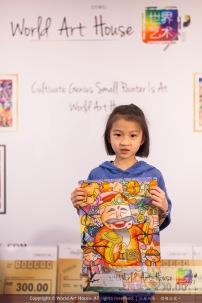 Malaysia Kota Damansara Petaling Jaya Kuala Lumpur Selangor Chinese New Year Charity Coloring Contest World Art House 世界艺术画室 and 1 Utama Shopping JinYeYe Effye Media B012