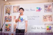 Malaysia Kota Damansara Petaling Jaya Kuala Lumpur Selangor Chinese New Year Charity Coloring Contest World Art House 世界艺术画室 and 1 Utama Shopping JinYeYe Effye Media B022
