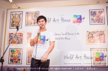 Malaysia Kota Damansara Petaling Jaya Kuala Lumpur Selangor Chinese New Year Charity Coloring Contest World Art House 世界艺术画室 and 1 Utama Shopping JinYeYe Effye Media B023