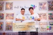 Malaysia Kota Damansara Petaling Jaya Kuala Lumpur Selangor Chinese New Year Charity Coloring Contest World Art House 世界艺术画室 and 1 Utama Shopping JinYeYe Effye Media B029