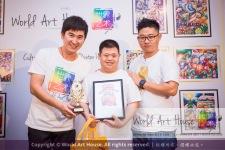 Malaysia Kota Damansara Petaling Jaya Kuala Lumpur Selangor Chinese New Year Charity Coloring Contest World Art House 世界艺术画室 and 1 Utama Shopping JinYeYe Effye Media B030