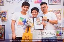 Malaysia Kota Damansara Petaling Jaya Kuala Lumpur Selangor Chinese New Year Charity Coloring Contest World Art House 世界艺术画室 and 1 Utama Shopping JinYeYe Effye Media B033