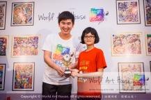 Malaysia Kota Damansara Petaling Jaya Kuala Lumpur Selangor Chinese New Year Charity Coloring Contest World Art House 世界艺术画室 and 1 Utama Shopping JinYeYe Effye Media B038